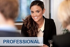 Professional woman in English Job Interview Classes in London