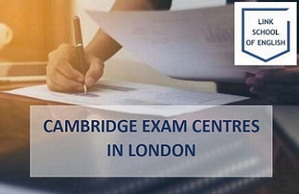 Cambridge Examination Centres in London. Student writing and English language exam