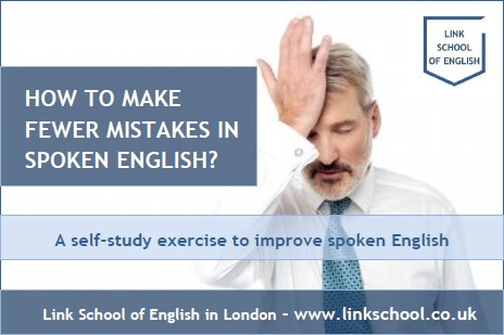 Learning advice to improve English speaking skills