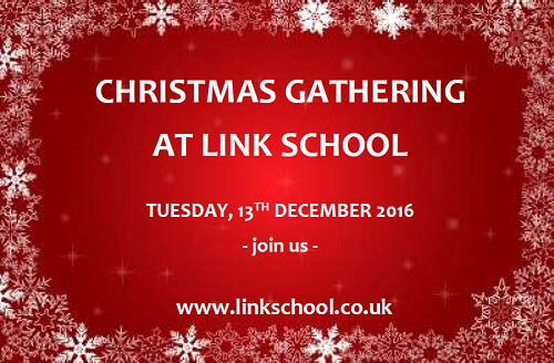 Christmas Gathering at Link School of English, 13 December 2016 - join us.