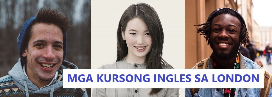 3 language students smiling - mga kursong ingles sa london