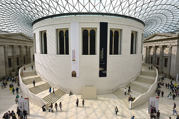 British Museum in London to visit with Link School of English social programme
