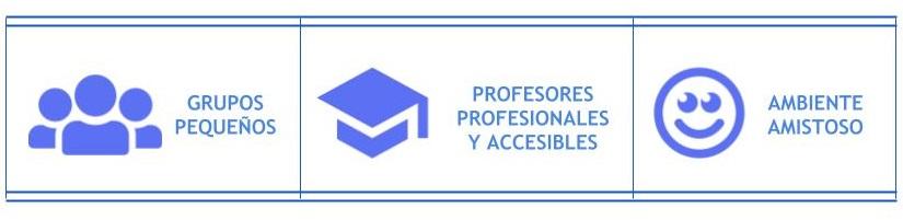 Grupos pequenos, profesores profesionales y accesibles, ambiente amistoso - Link School of English
