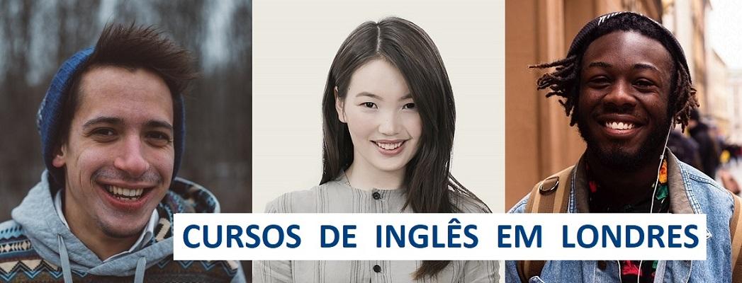3 estudantes internacionais - cursos de ingles em Londres